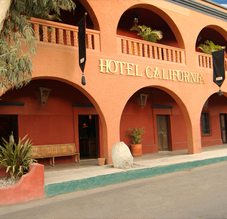 Front of Hotel California